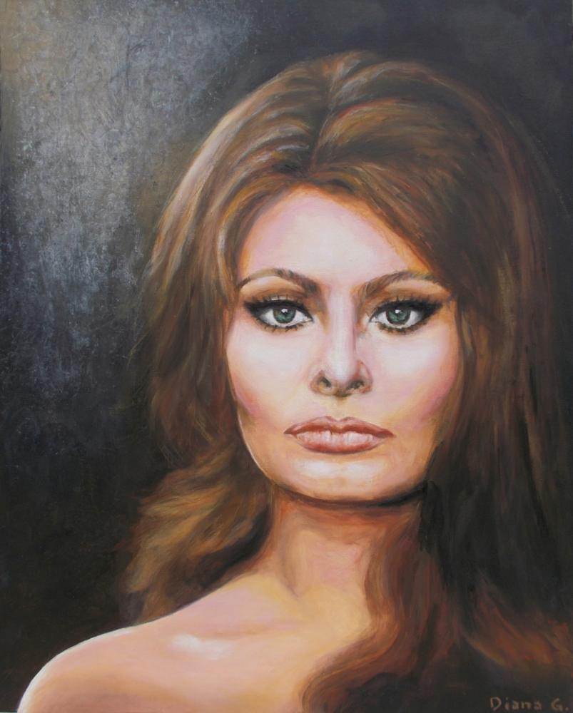 Sophia Loren par Artistica